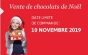 OPERATION CHOCOLATS DE NOEL 2019